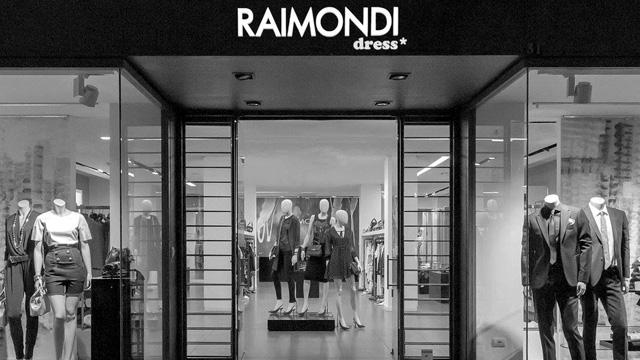 Esterno della boutique Raimondi - Ravenna